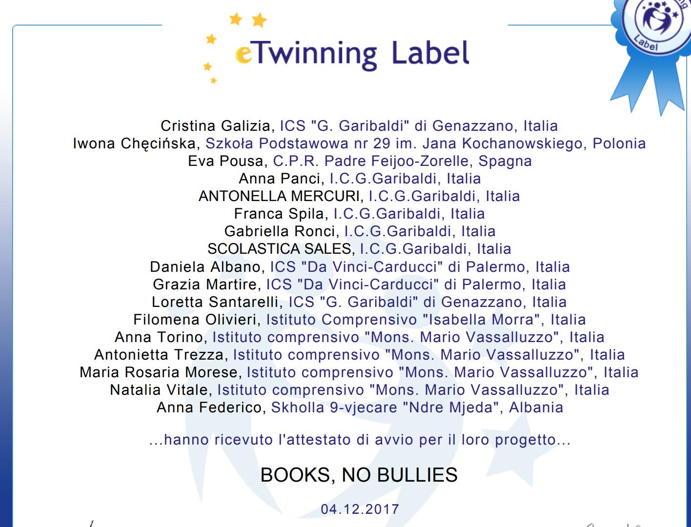 Books, no bullies